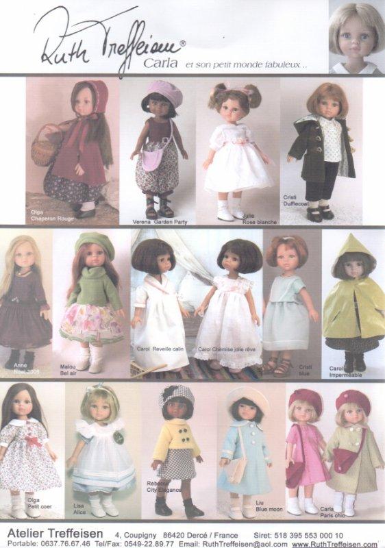 catalogue des tenues signées Ruth Treiffesen
