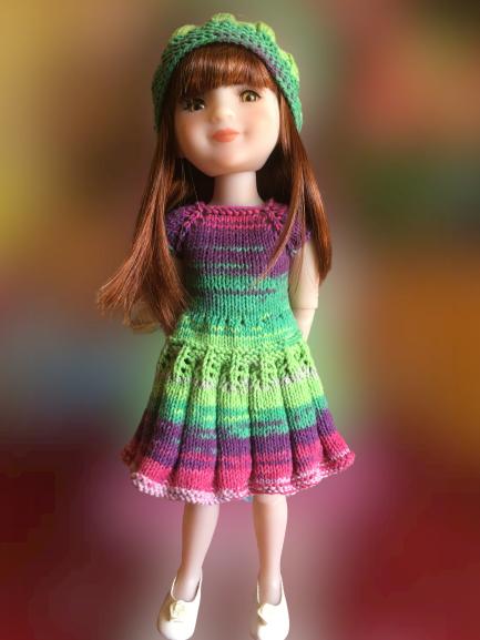 Lucile a une nouvelle robe