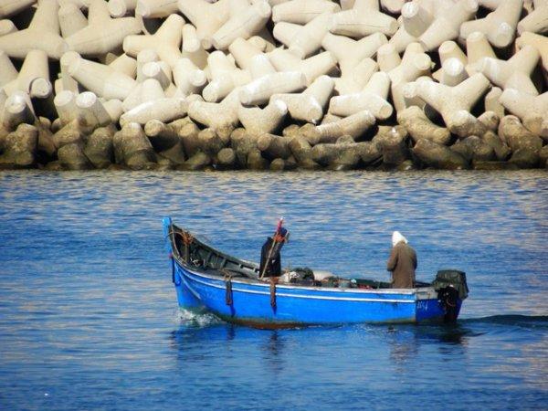 port d' Agadir!