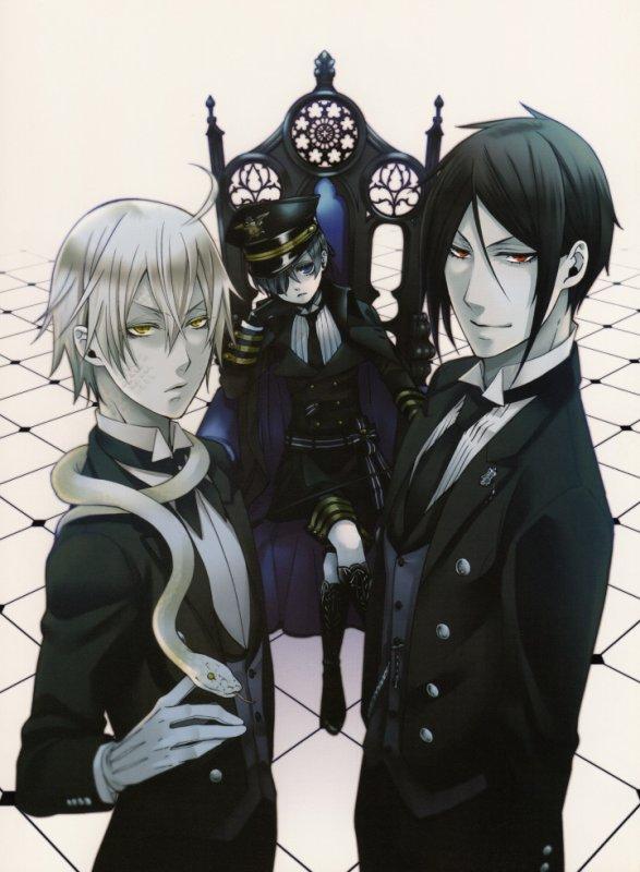 Black Butler *-*