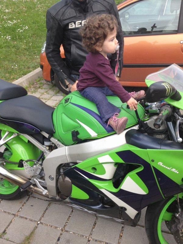 ma fille & ma moto