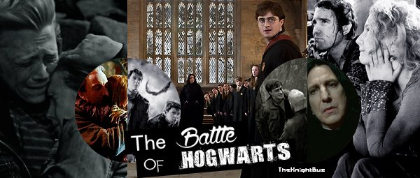 ...... Today we remember the Battle of Hogwarts......