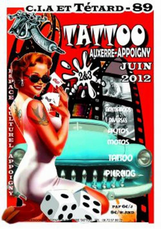 Conventions tattoo a Appoigny (89)
