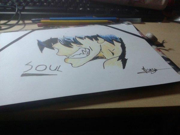 -Prend ce crayon , et dessine le reflet de ton âme-
