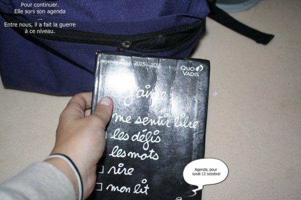 Léa, Un agenda et de la mémoire ! -PHOTOSTORY- #1
