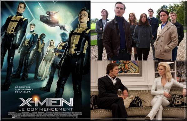 ~198~ X-Men : Le commencement