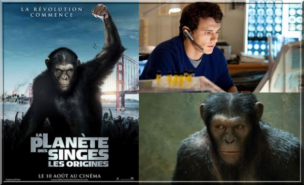 ~209~ La planète des singes : Les origines