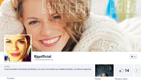 Aimez ma page Facebook s'il vous plaaaaaaaît!