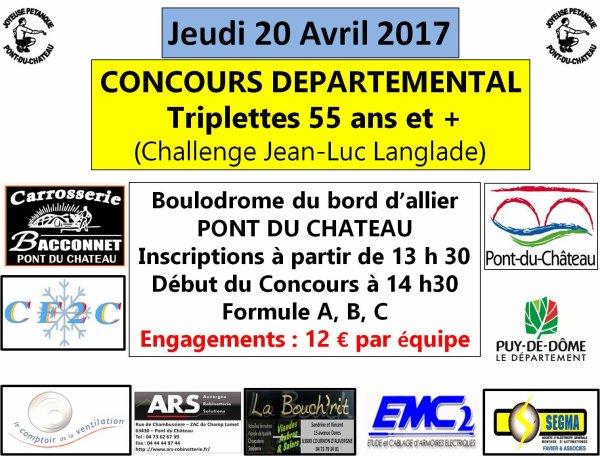 Challenge J L Langlade