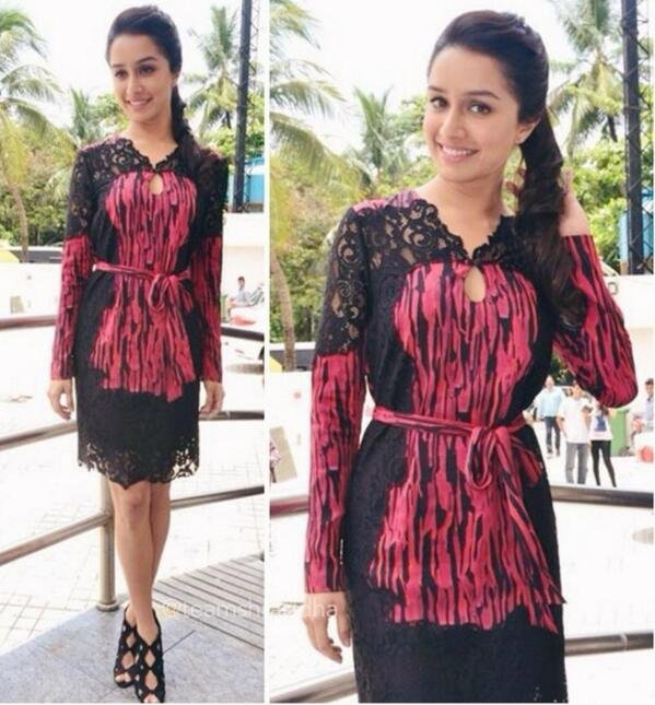 #Article 14 : Shraddha kapoor Look at Haider trailer launch