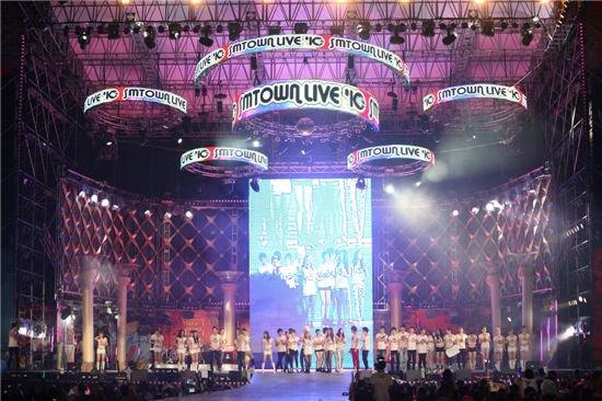 """SM Town Live 11"""" au ZENITH DE PARIS"""