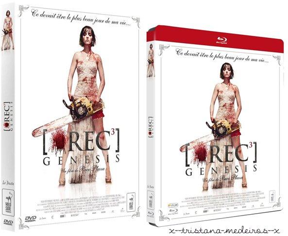 Rec  3, le film le plus sanglant de la saga enfin en DVD et Blue Ray. En vente partout  ! ;)