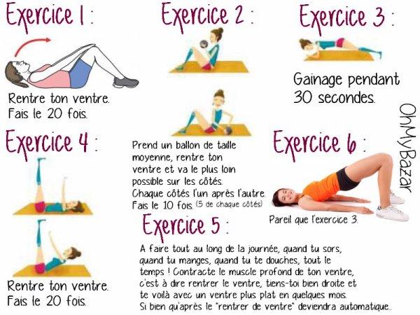 Extrêmement Ventre plat Archives - Page 64 sur 71 - Coach nutrition et sportif WR38