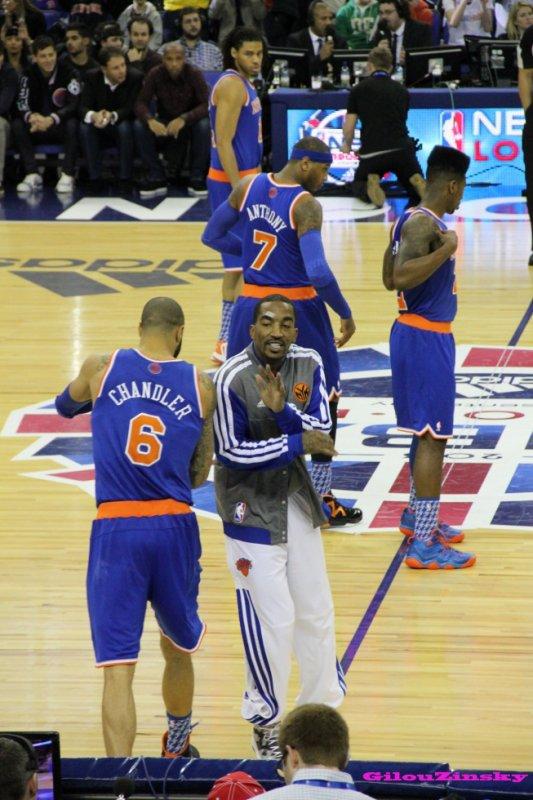 Souvenir de Londres - Knicks vs Pistons