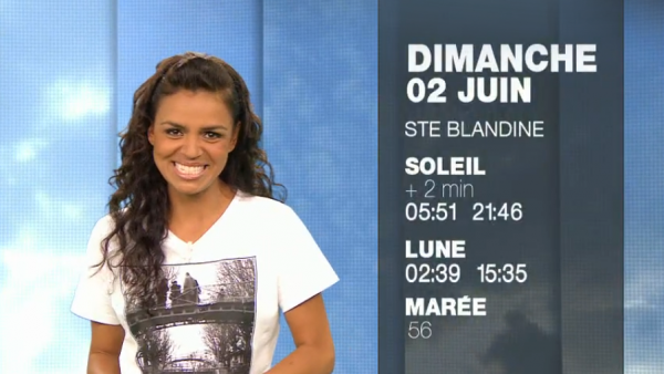 Pavé on The Ground , le tee shirt en avant sur M6 ... MERCI Laurence :-)