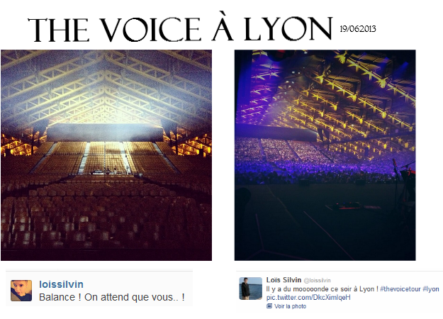 The voice tour à Chambéry/ Lyon