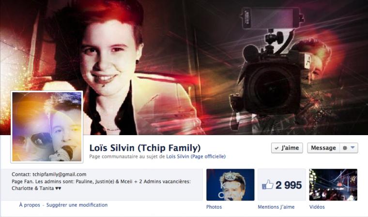 "Merci à ""Loïs Silvin (Tchip Family)"" ♥"