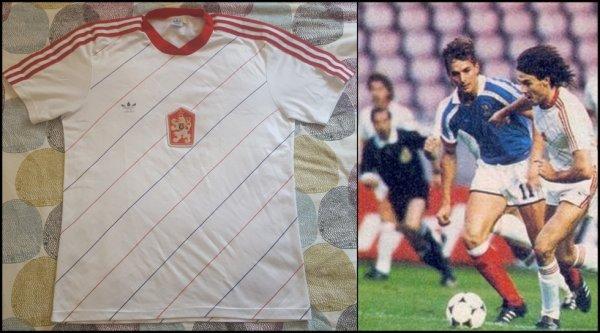 Maillot Tchécoslovaquie 1988