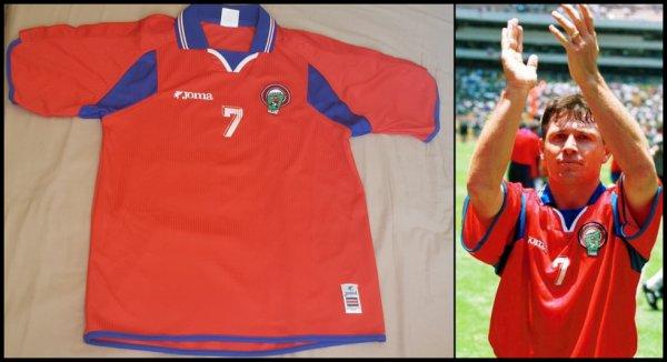 Maillot Costa Rica 2000 2002