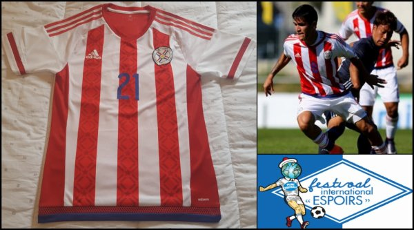 Maillot Paraguay 2015 2016