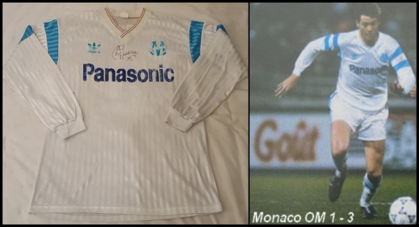Maillot Olympique de Marseille 1990 1991