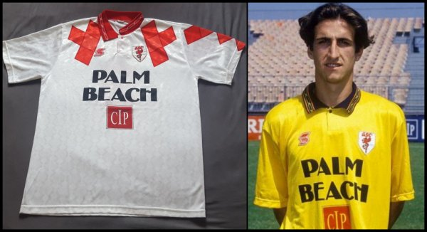 Maillot AS Cannes 1993 1994