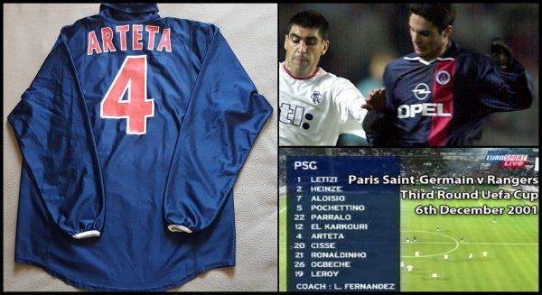 Maillot PSG 2001 2002