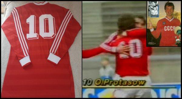 Maillot URSS 1985 1986