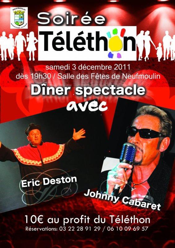 03 Décembre 2011 Téléthon à Neufmoulin