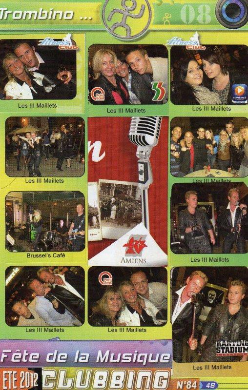Juillet 2012 Merci Night clubbing