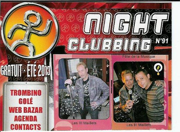 Night Clubbing Juillet 2013