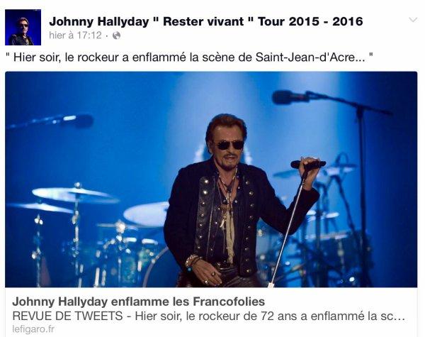 14 Juillet 2015 Les Francofolies à la Rochelle Superbe