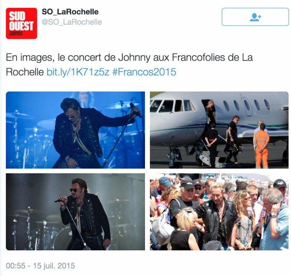 14 Juillet 2015 Les Francofolies à la Rochelle