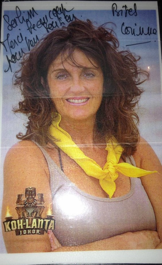 Dédicace de Corinne #KOHLANTA #JOHOR2015