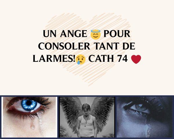 un ange pour des larmes