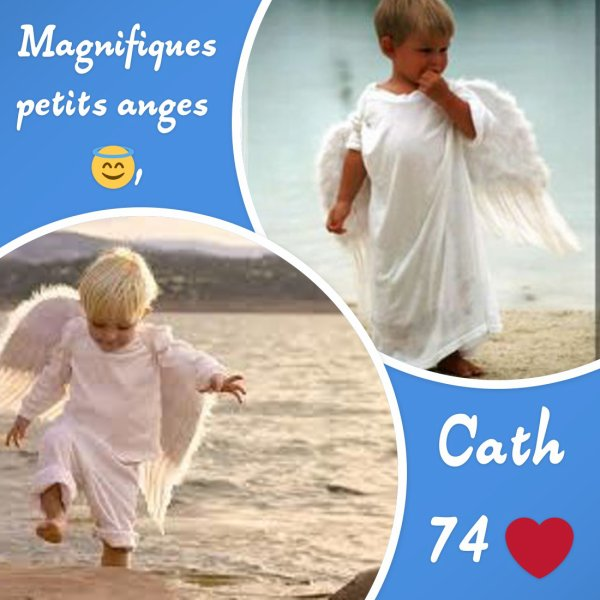 adorables petits anges 😇!