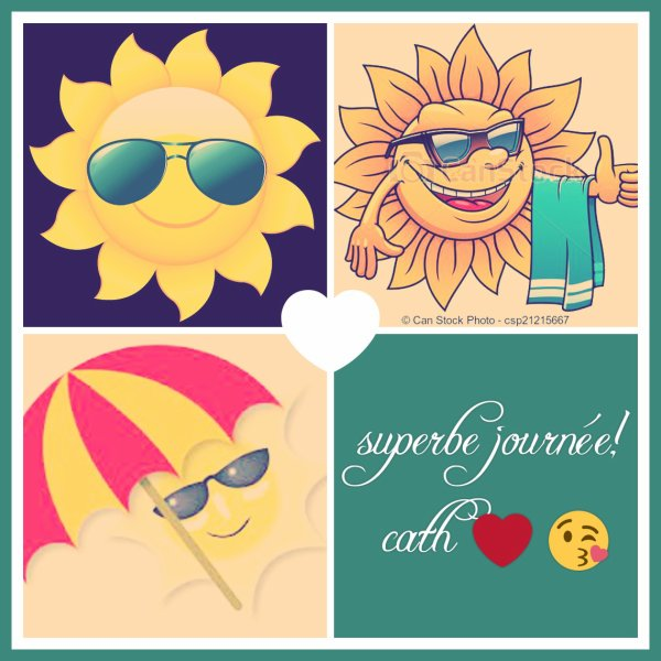 bon lundi avec le soleil!!!