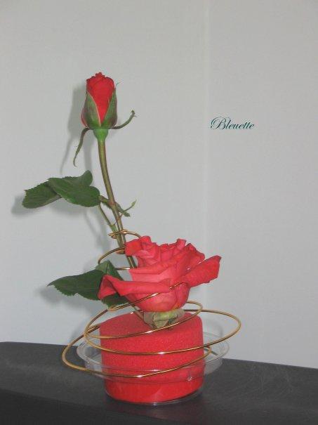 Pour lisianthus art floral bleuette010 for Lisianthus art floral