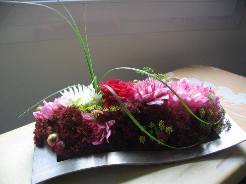 dahlias s dums fleurs et graines d 39 aneth art floral bleuette010. Black Bedroom Furniture Sets. Home Design Ideas