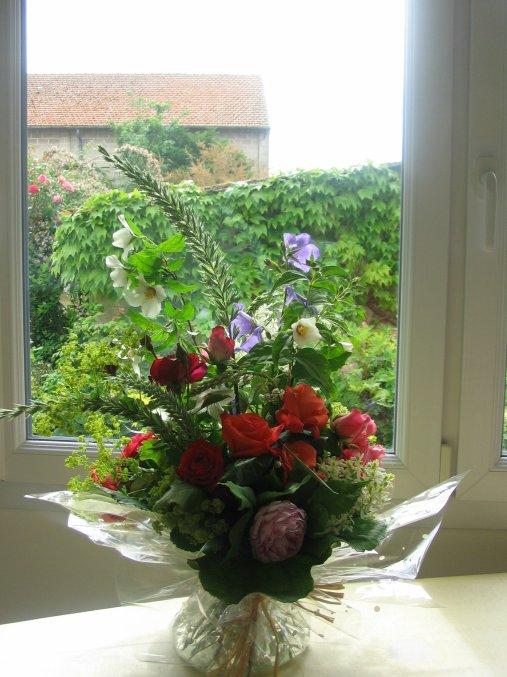 fleurs du jardin art floral bleuette010. Black Bedroom Furniture Sets. Home Design Ideas