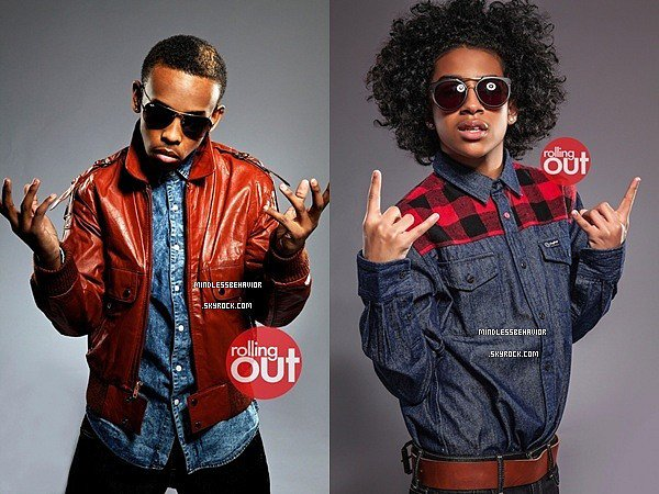 . » 06/ 03/ 13 : Le nouveau photoshoot des Mindless Behavior pour le magasine Rolling Out a enfin apparue. - Prodigy & Princeton (suite). .