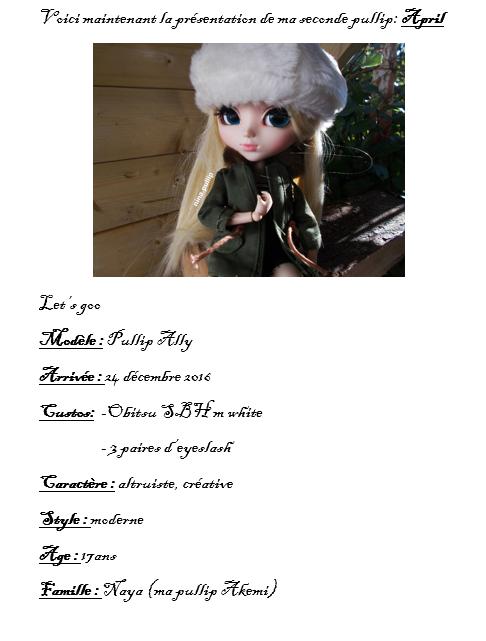 Présentation de mes dolls part 2