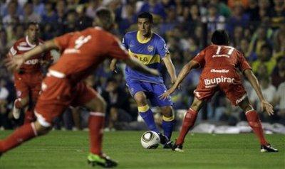Boca Juniors - Argentinos Juniors : 0-2, retour gâché !!