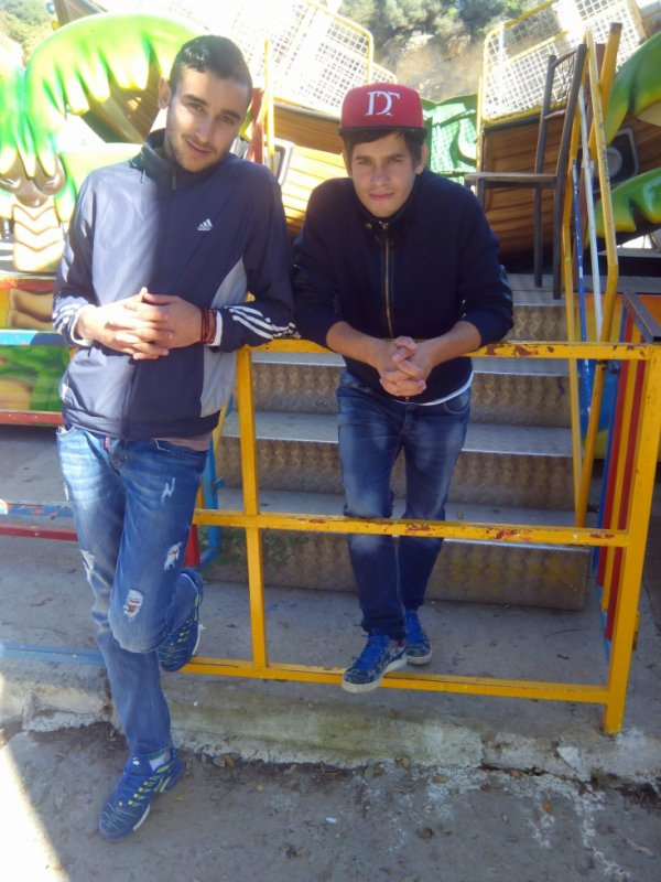 me and my friend oussama
