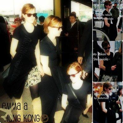 .  . Emma Arrive a Hong Kong Le 6 décembre 2011 :)  .  .