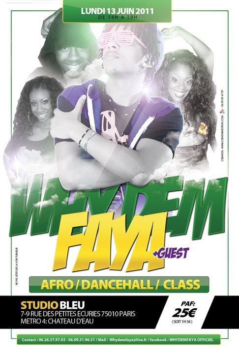 WHYDEMFAYA AFRO-DANCEHALL CLASS