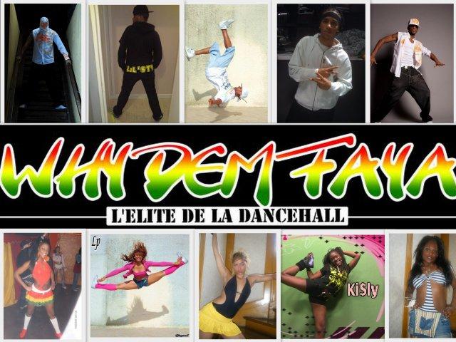 WHY-DEM-FAYA   L'ELITE DE LA DANCEHALL