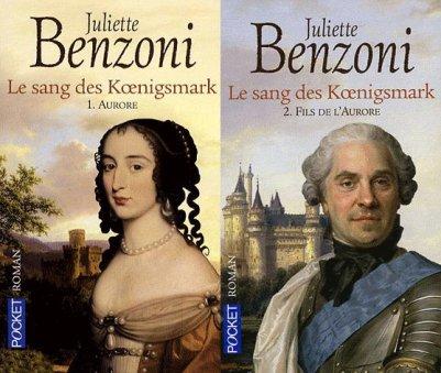 Le Sang des Koenigsmark, Juliette Benzoni