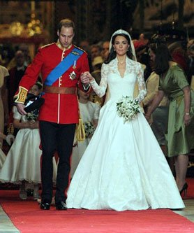 Mariage princier en Angleterre