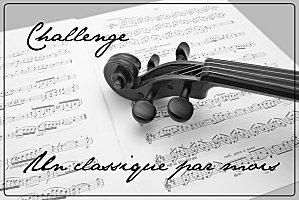 Challenge un classique par mois